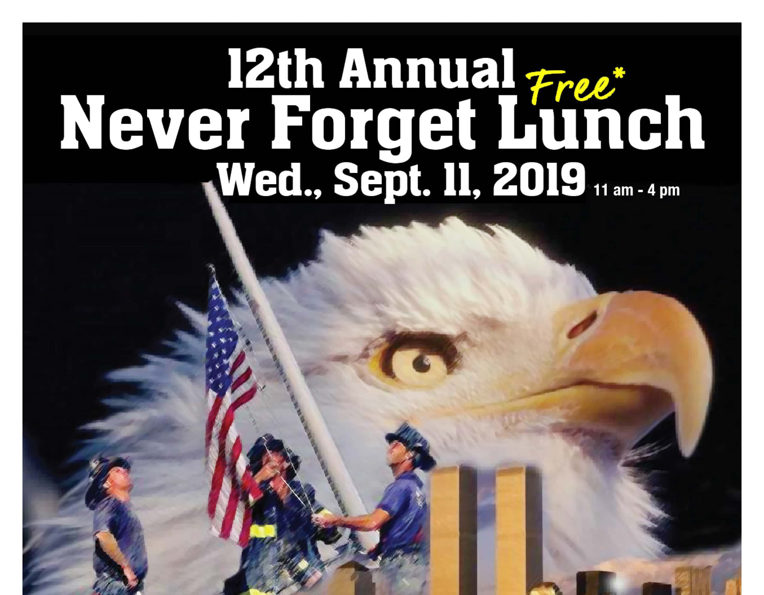 Never Forget Lunch Poster