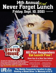 14th Annual Never Forget Lunch 2021