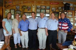 Pictured at the July 12th Breakfast Reception and Special Tribute to Our Military