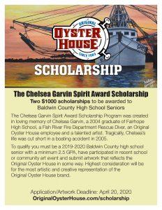 Chelsea Garvin Spirit Award Scholarship