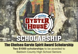 Scholarship for Baldwin Co High School Seniors Graphic