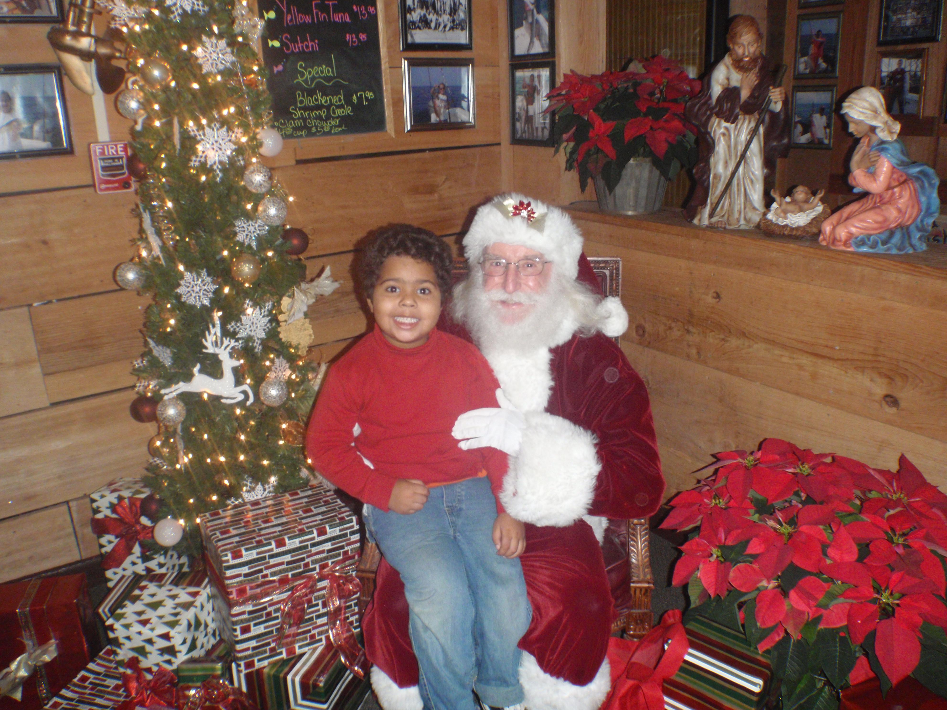 Kid And Santa 4