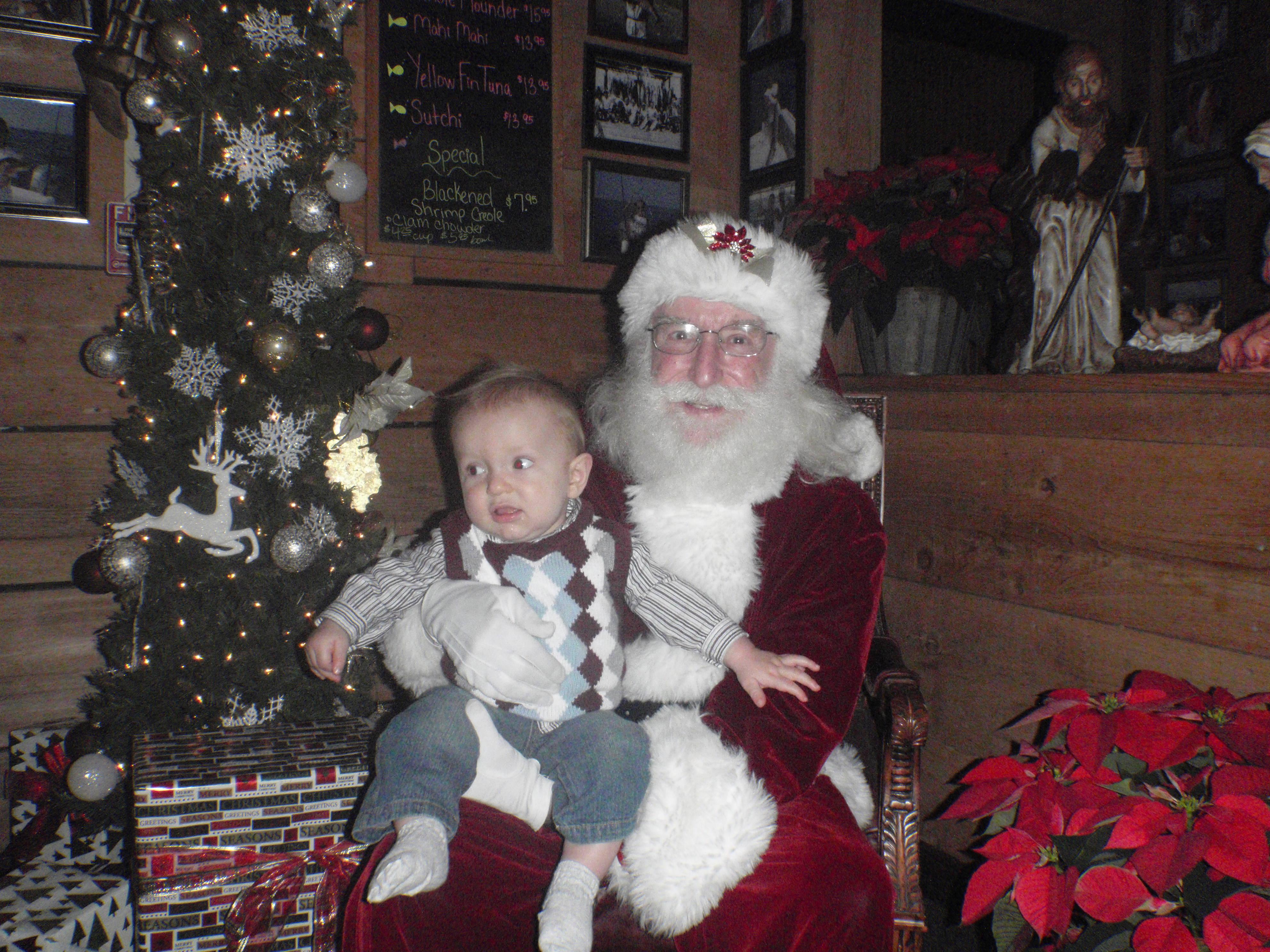 Baby and Santa 2