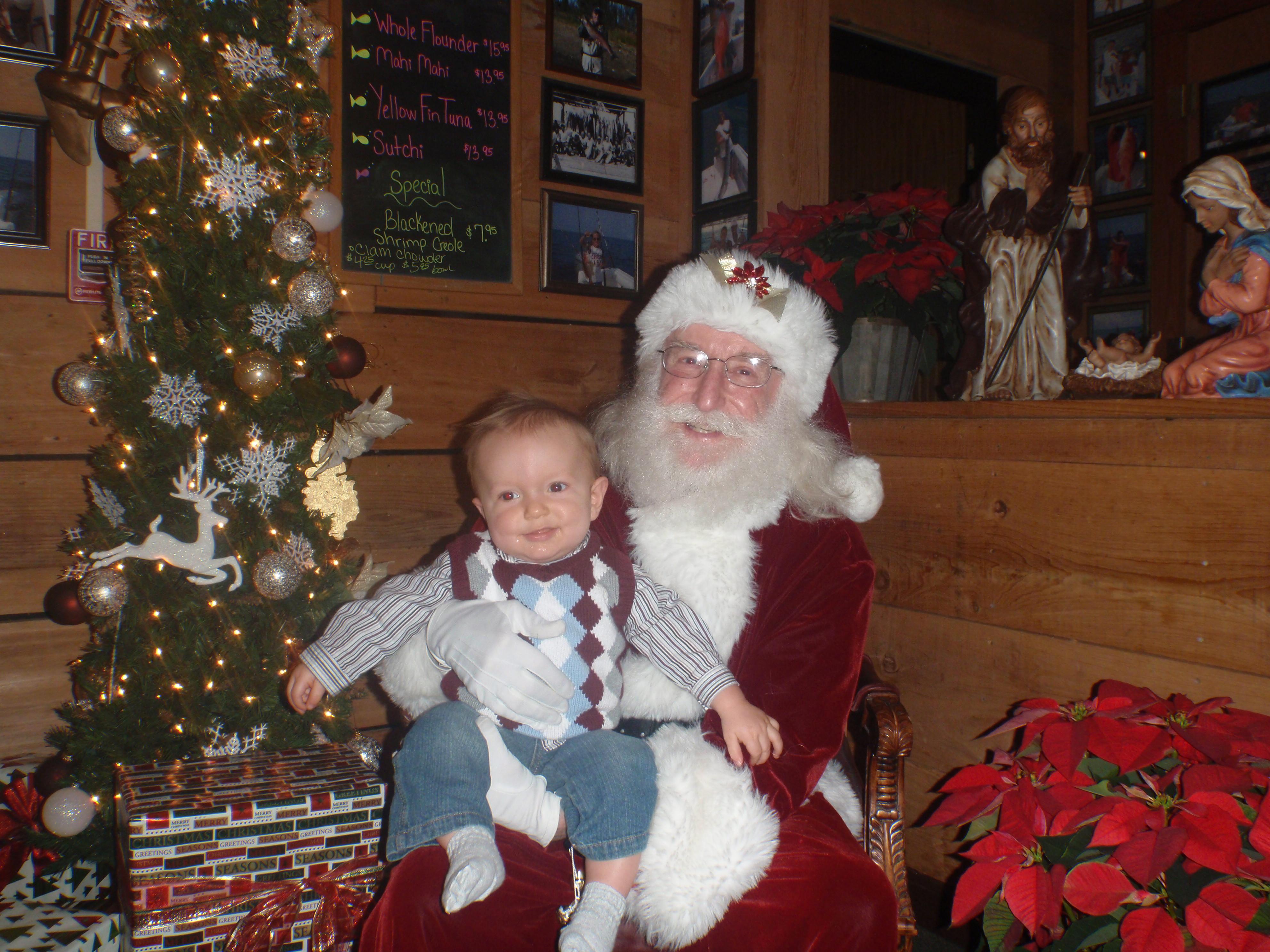 Baby and Santa 3