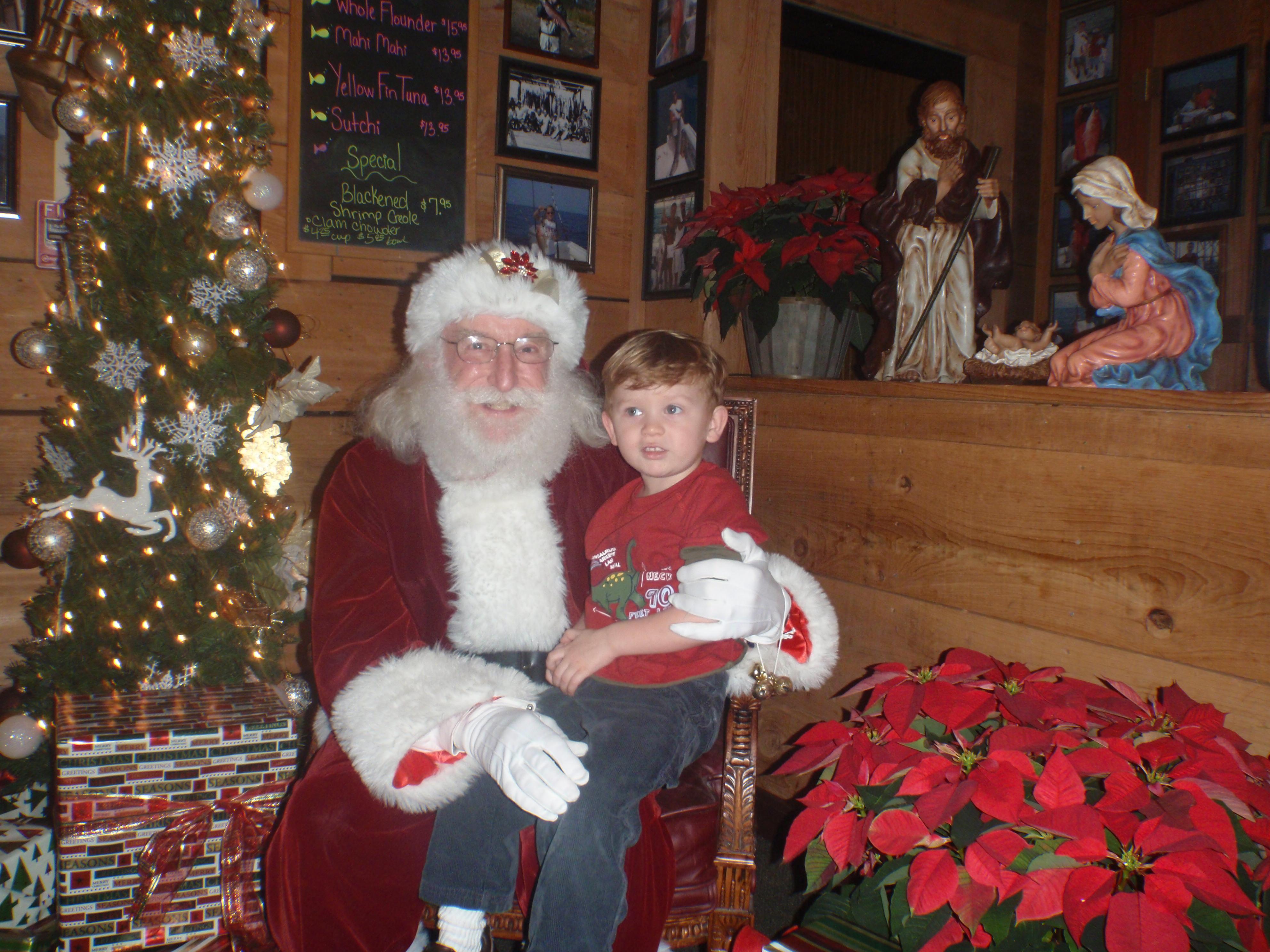 Kid and Santa 5