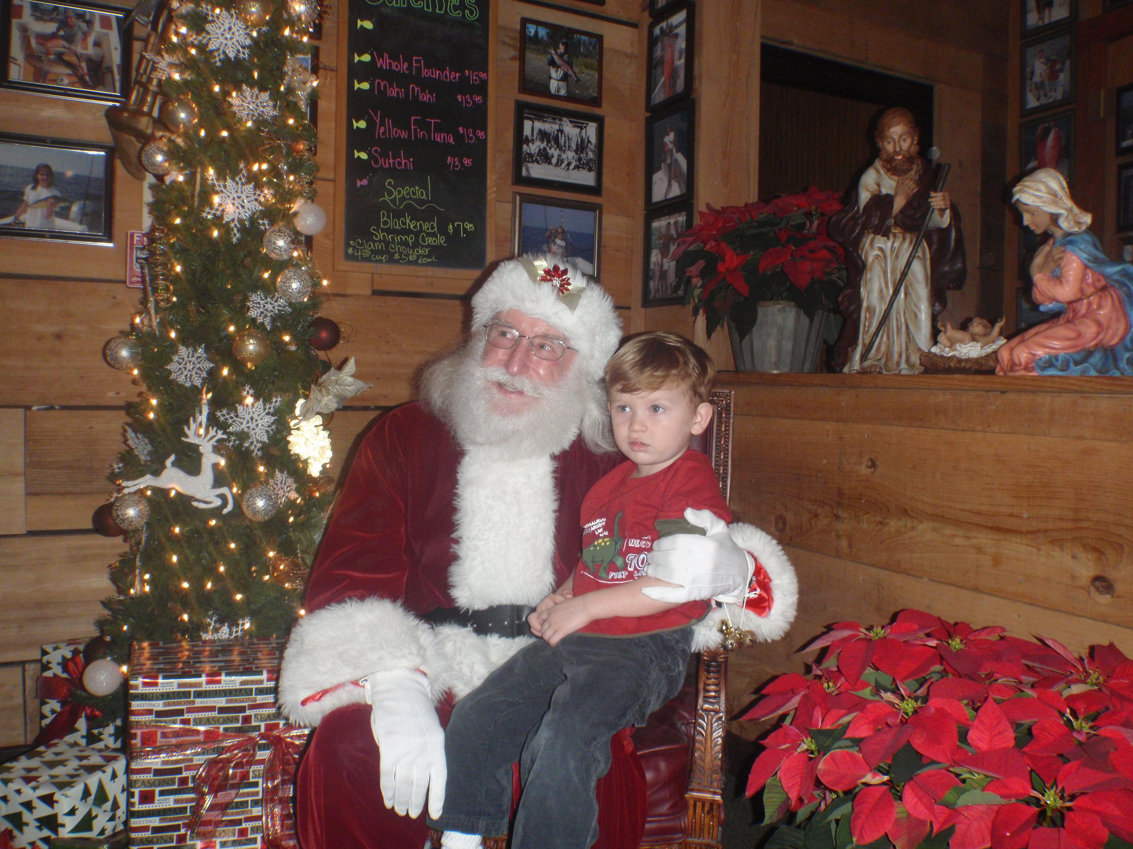 Kid and Santa 6