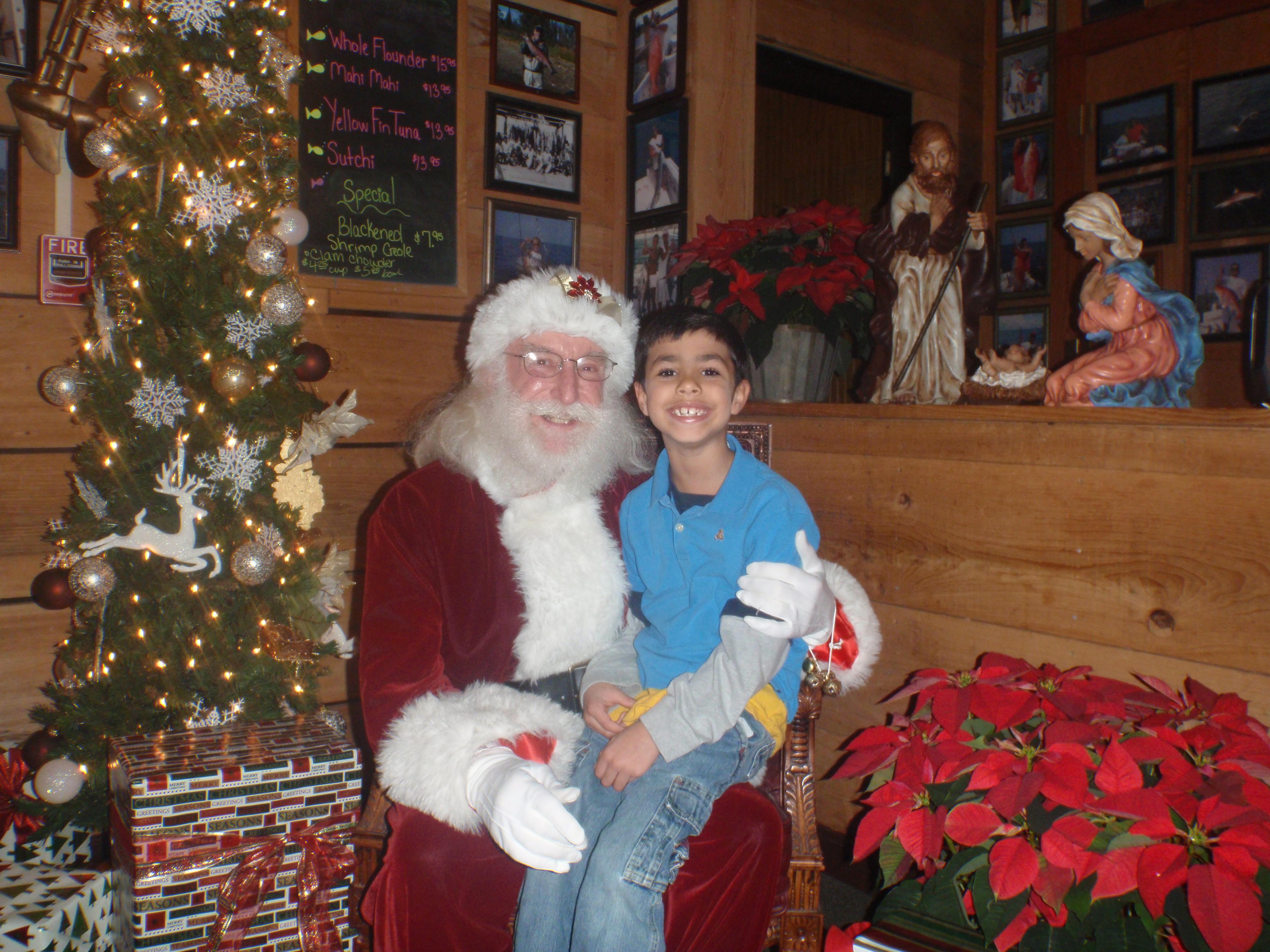 kid and santa 7