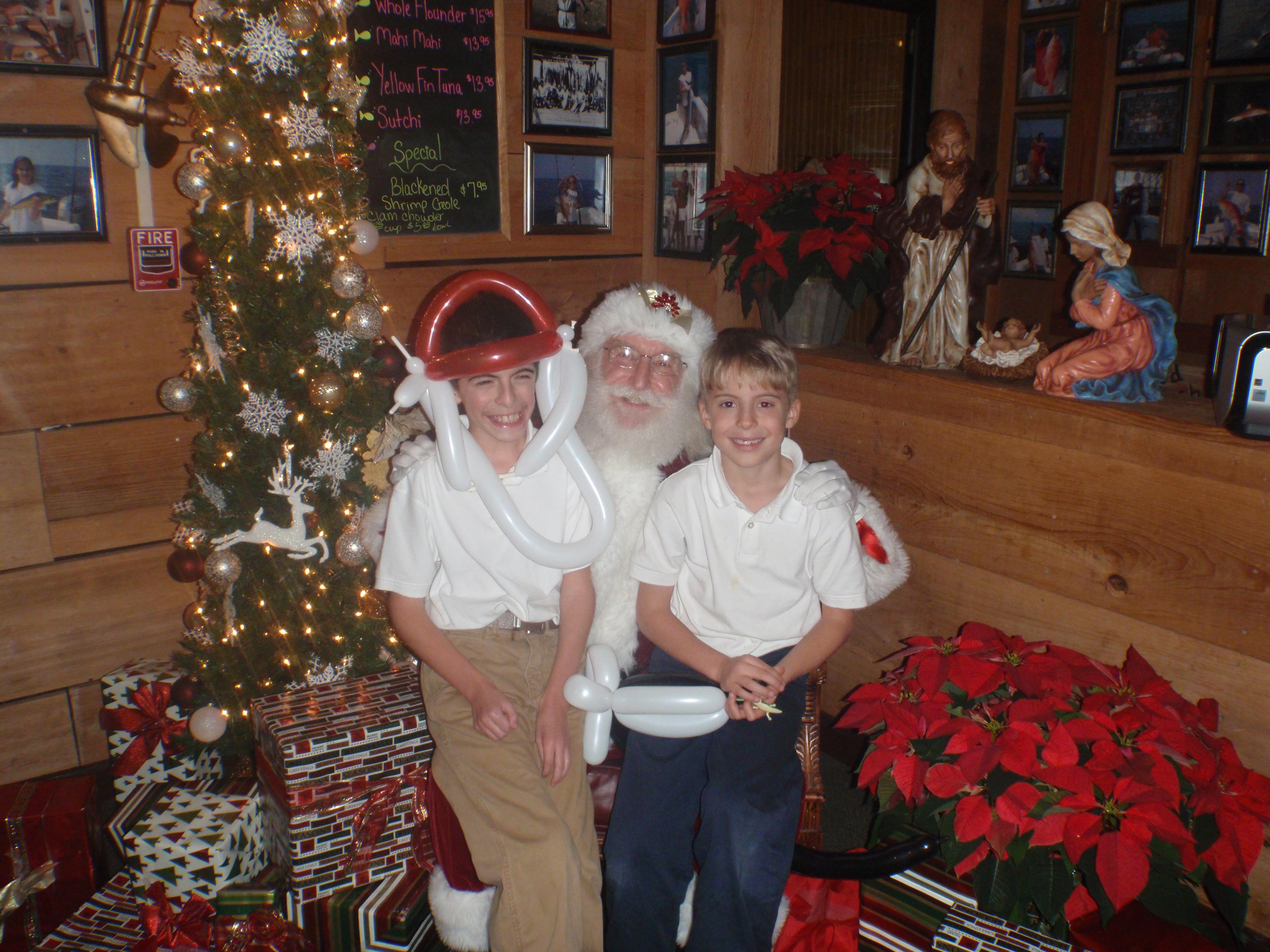 Kids and Santa 8