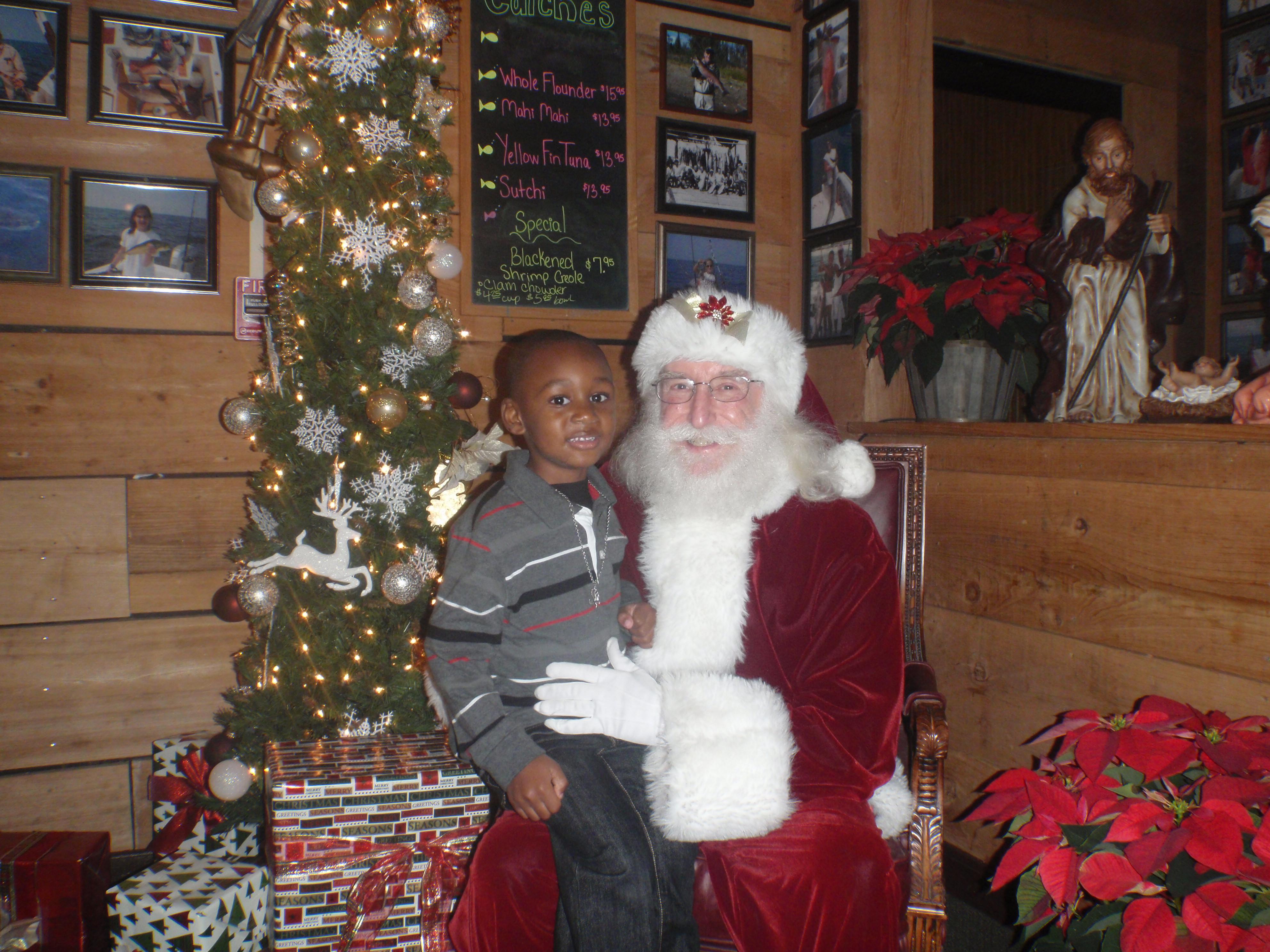 boy and santa 2