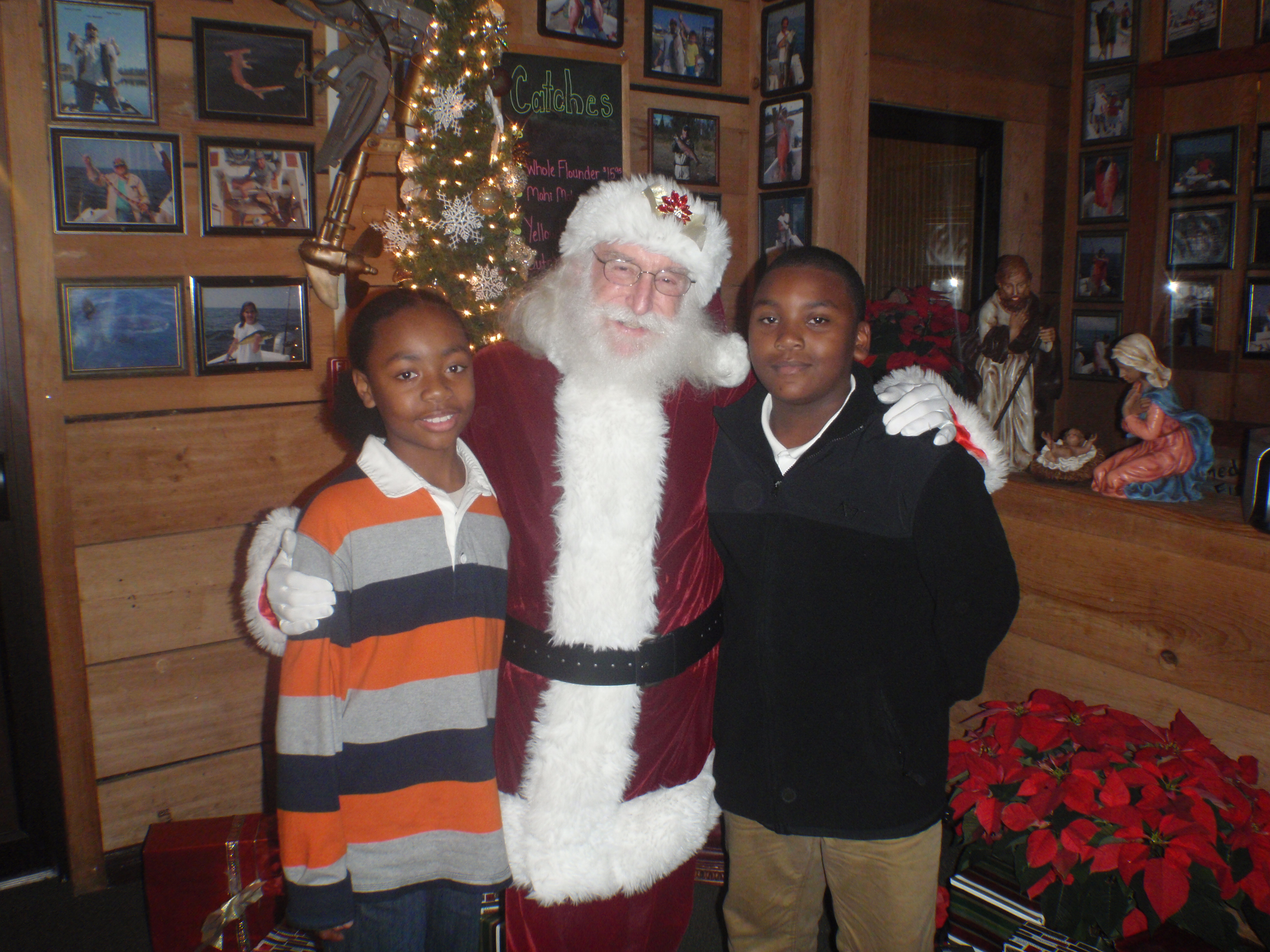 Photo with santa 9