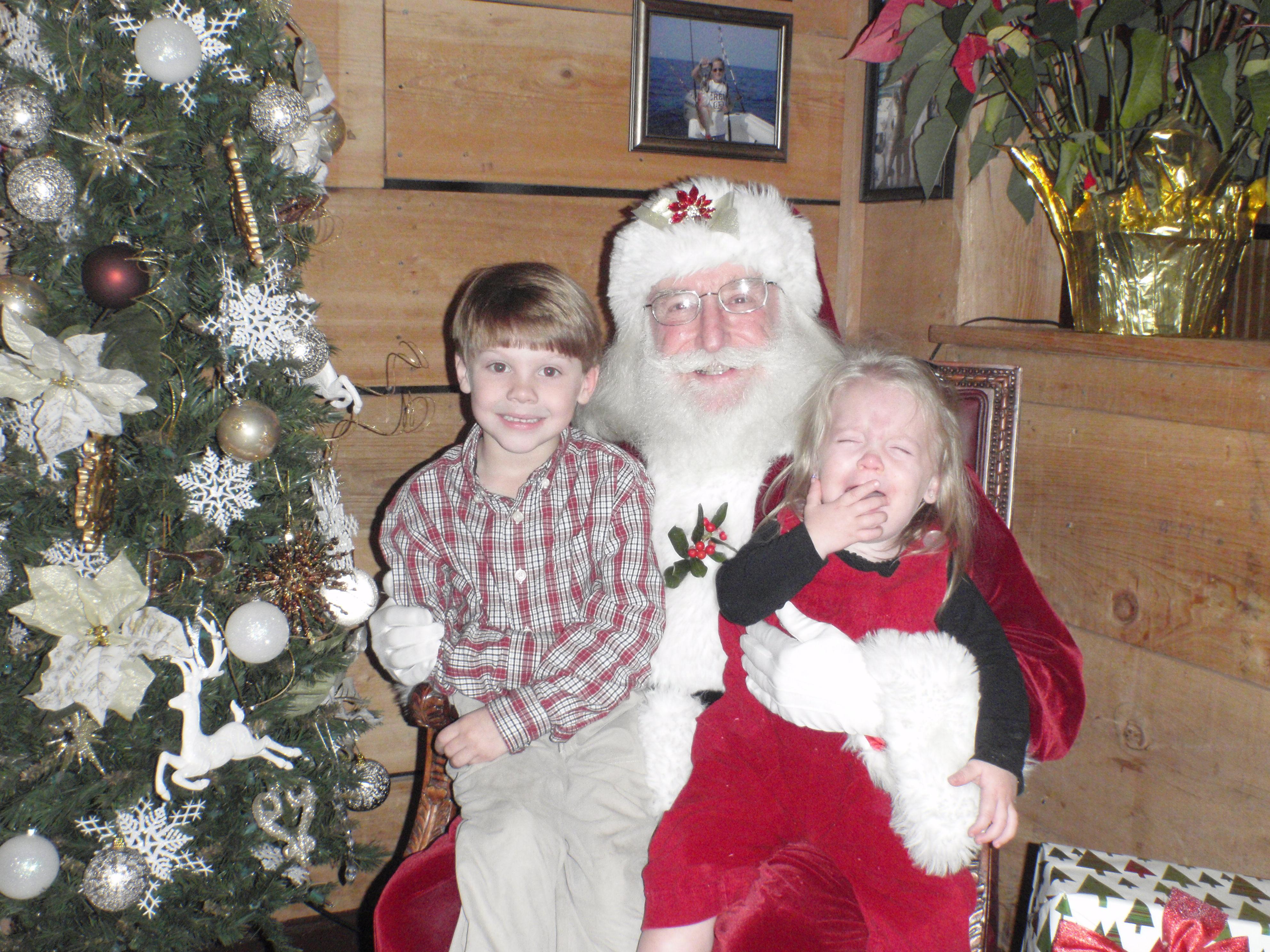 kids and santa 10