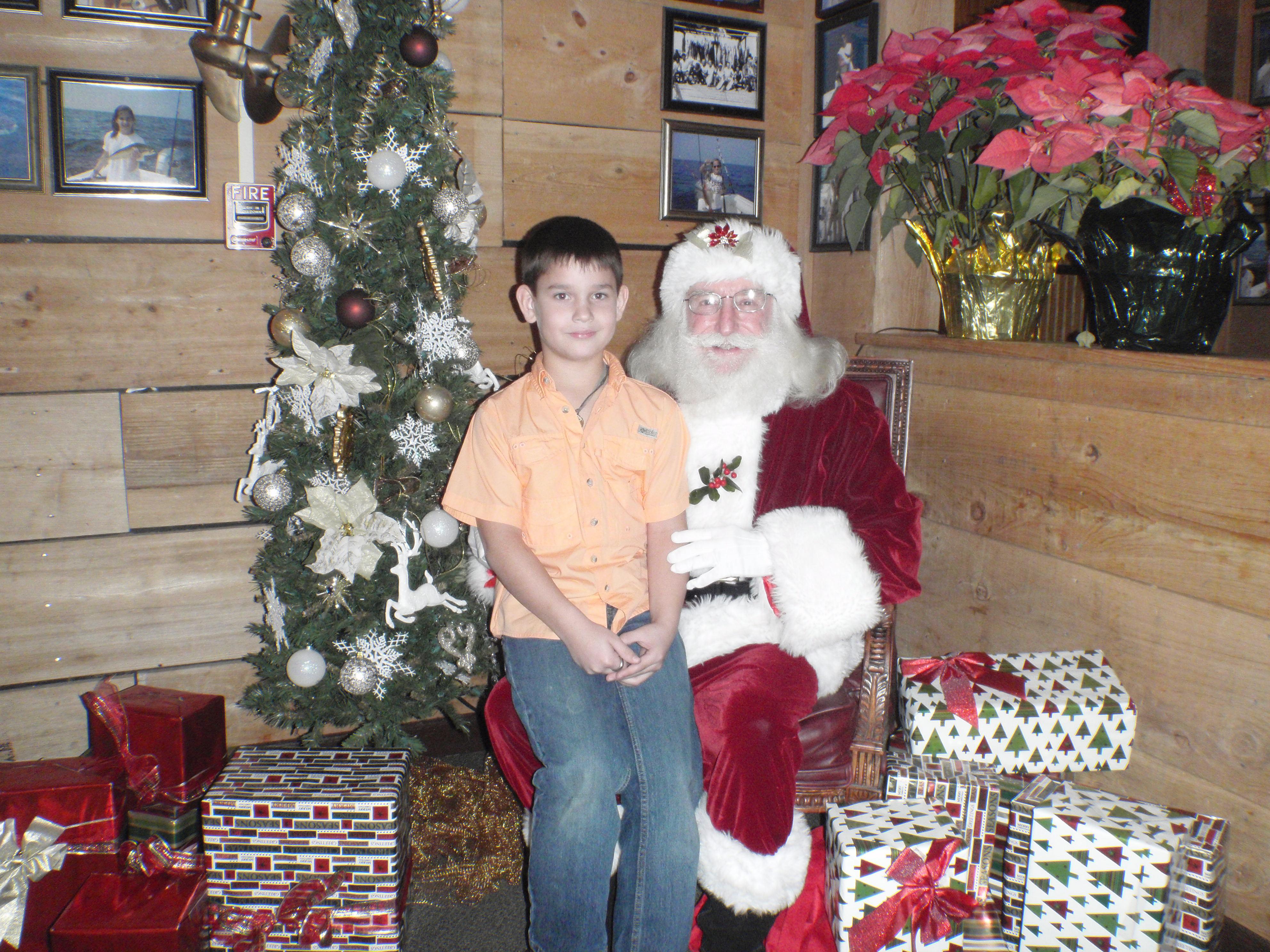 kid and santa 8