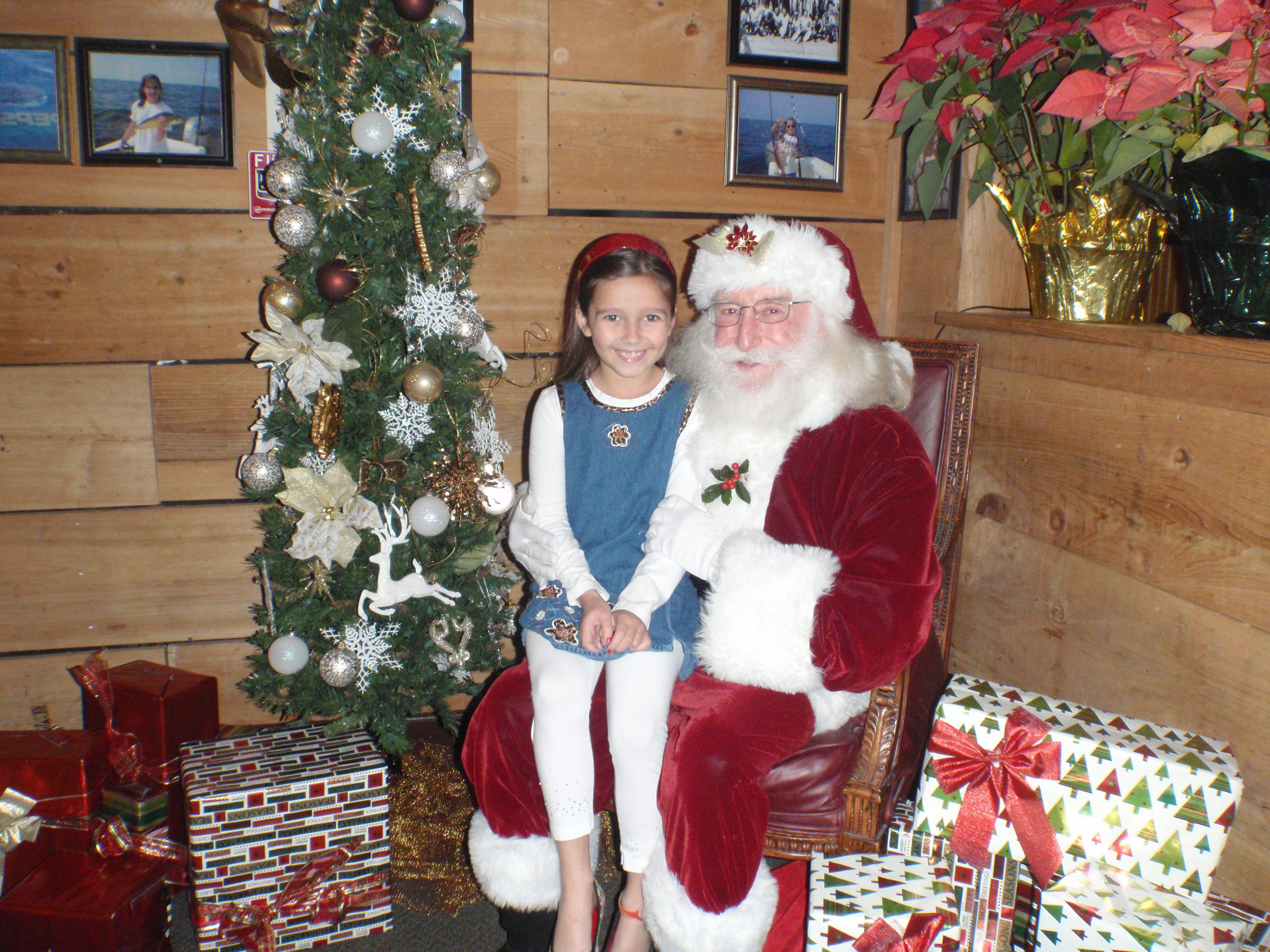 girl and santa 11
