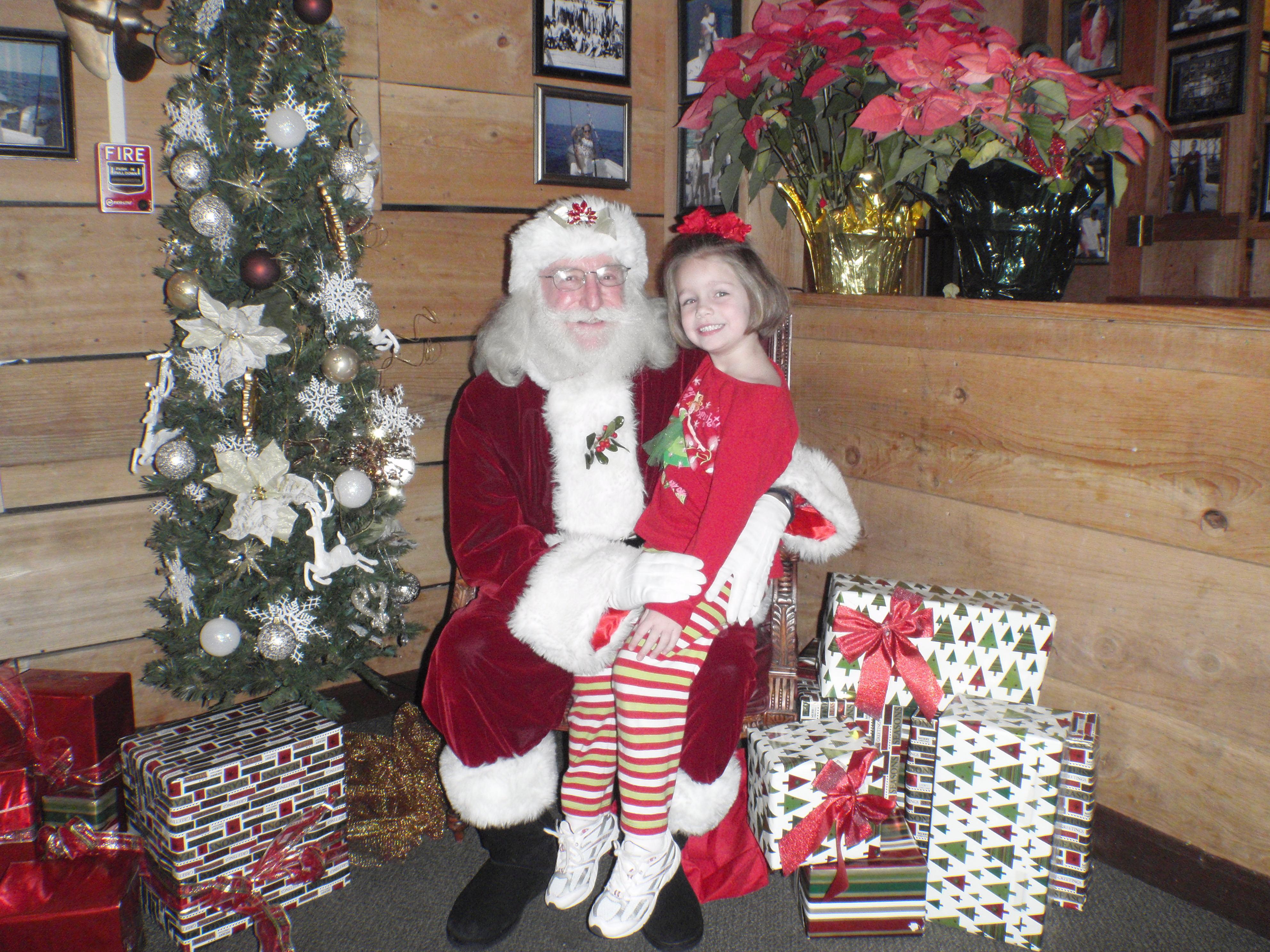 girl and santa 14