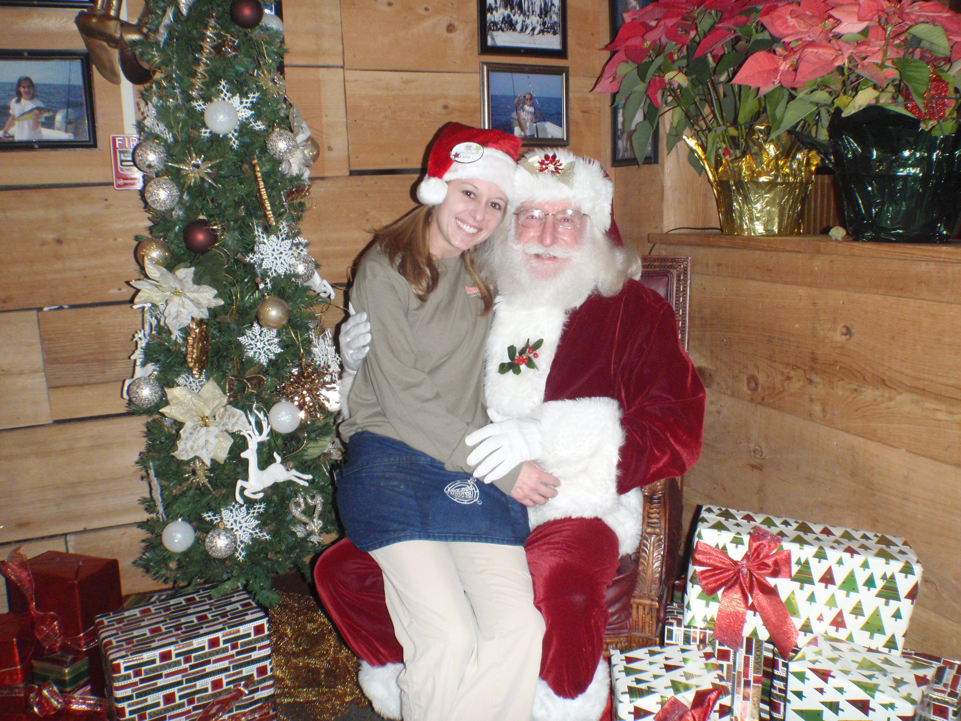 girl and santa 19