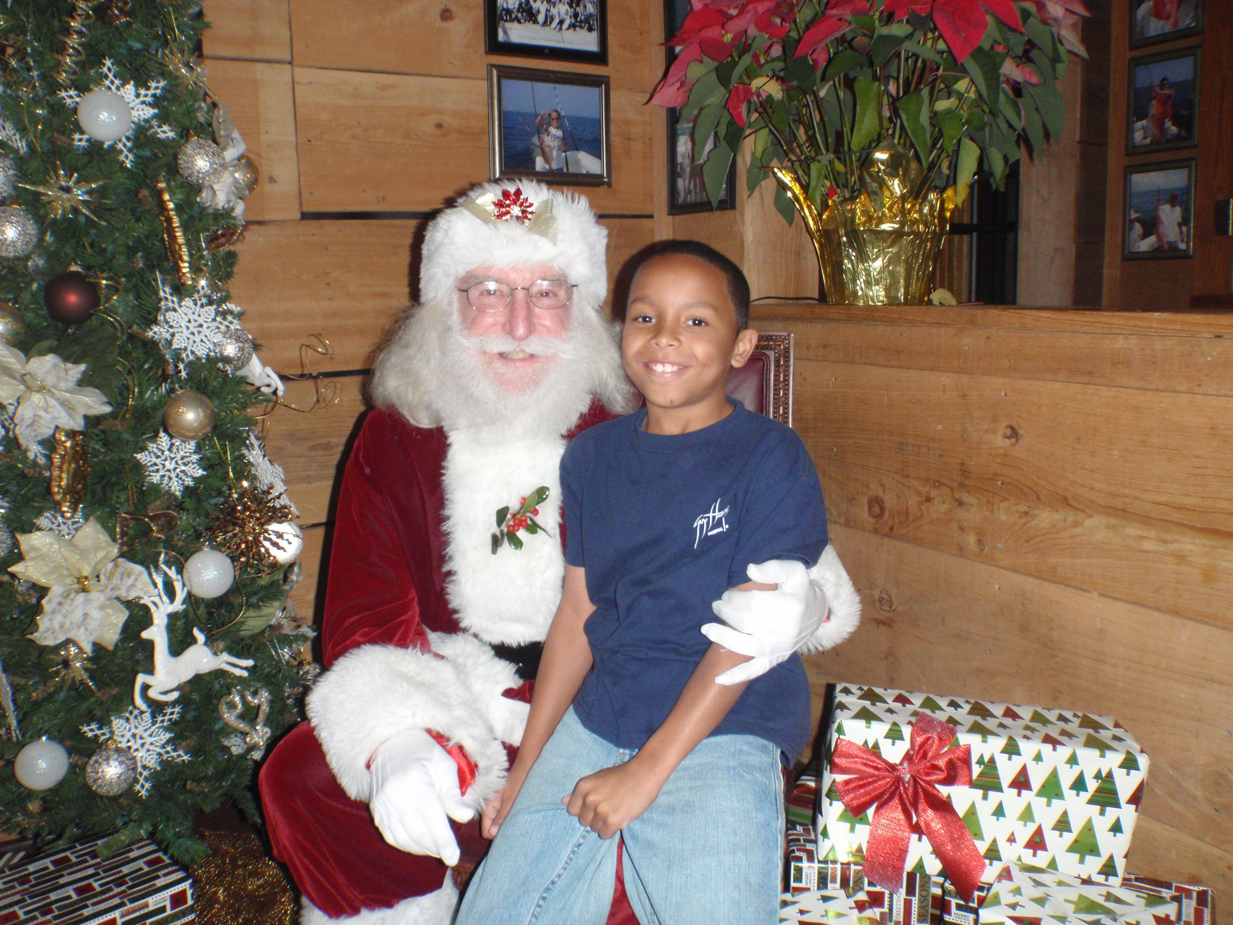 boy and santa 10
