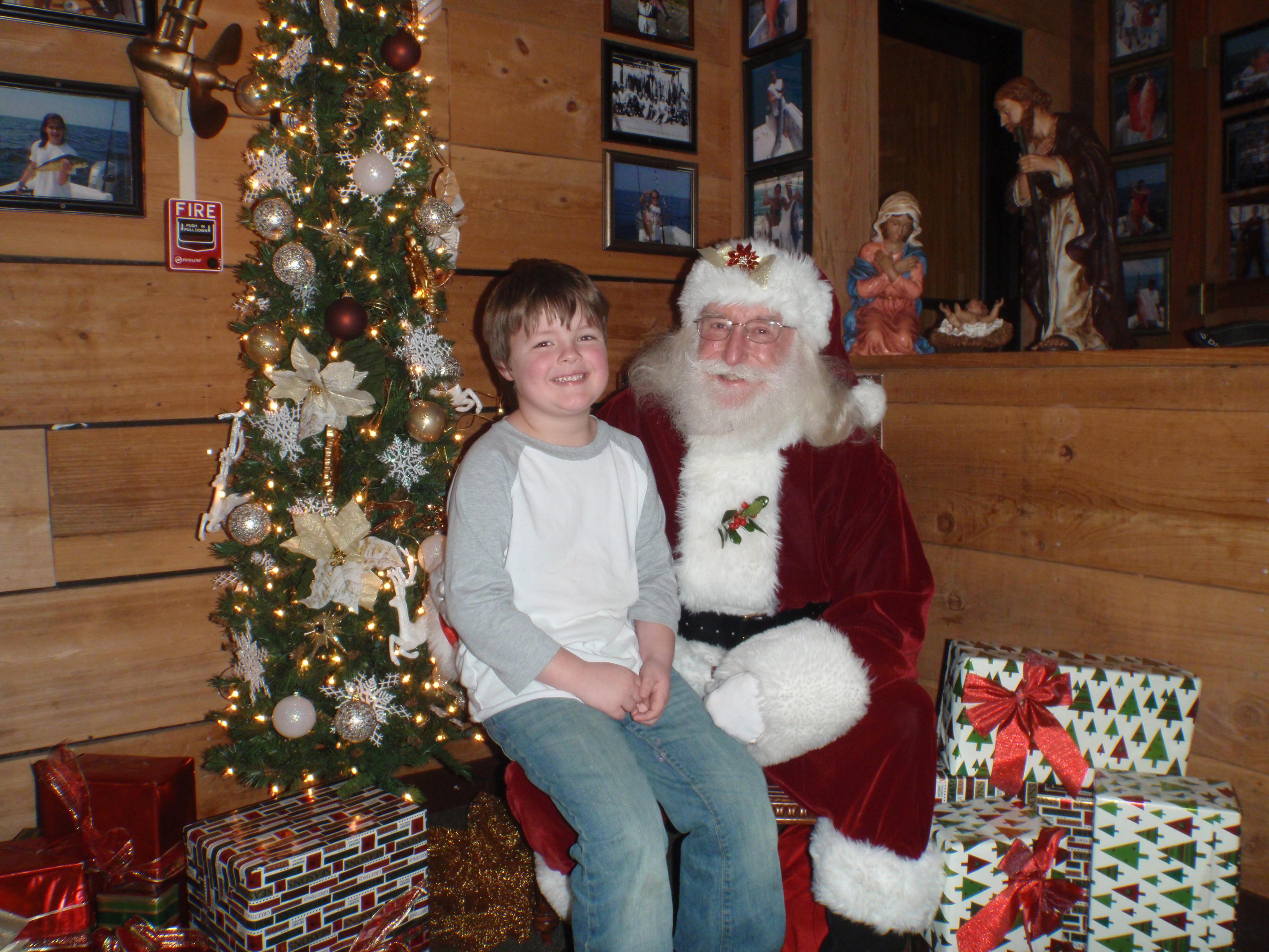 boy and santa 6
