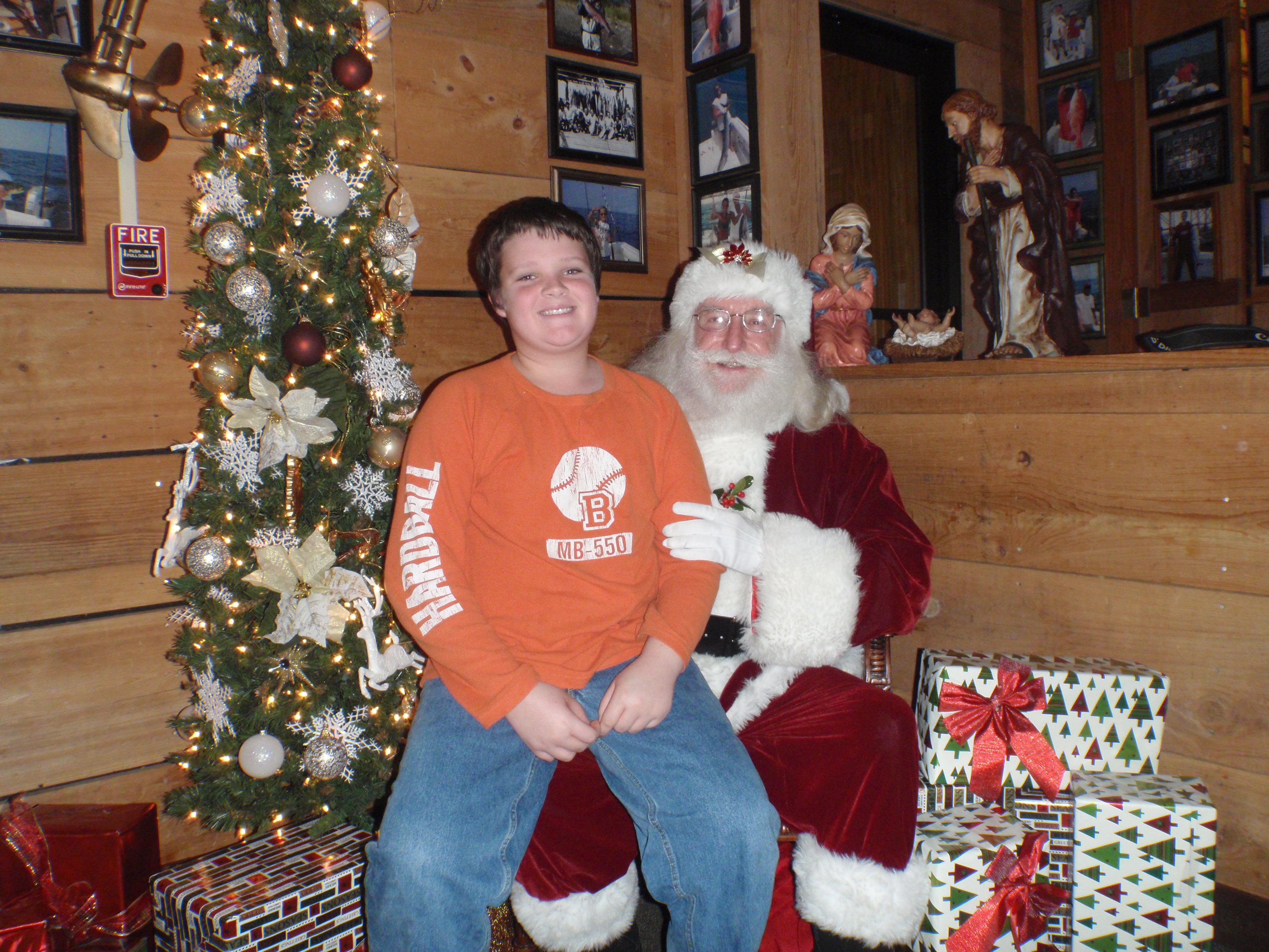 boy and santa 7