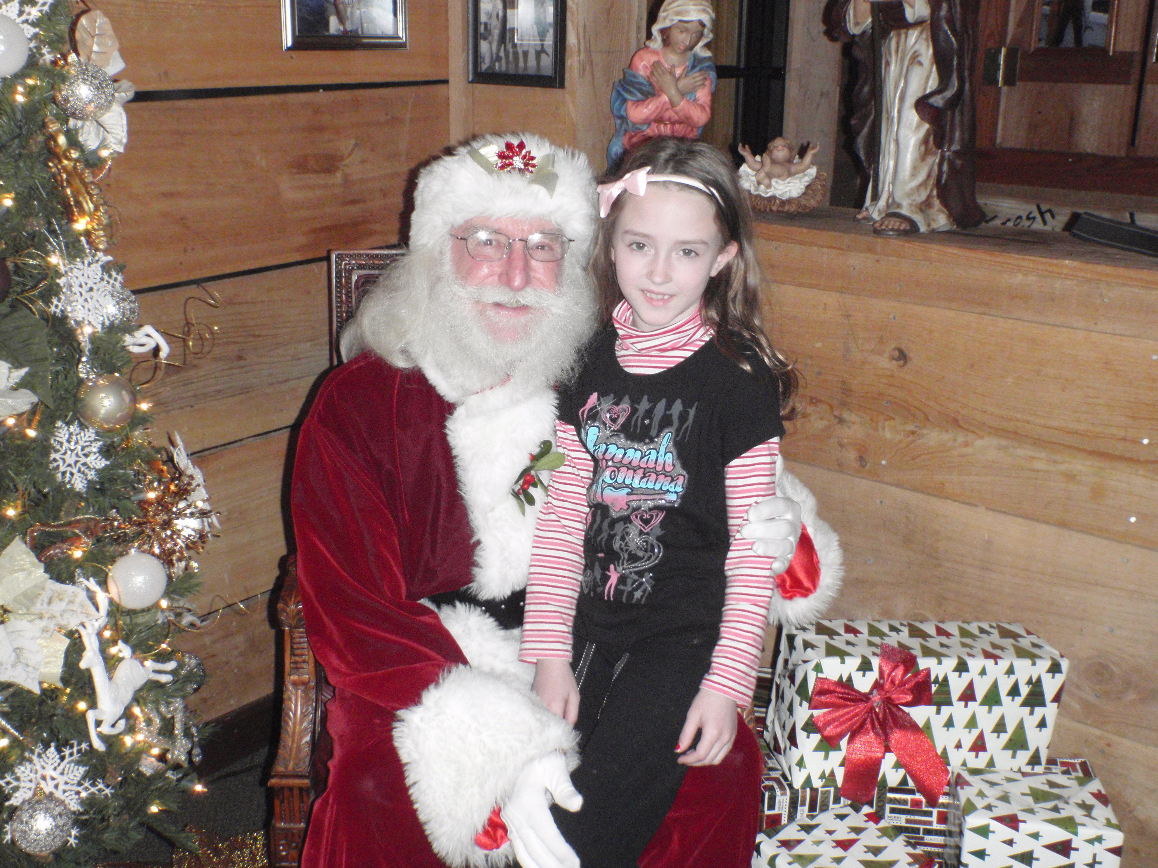 girl and santa 16