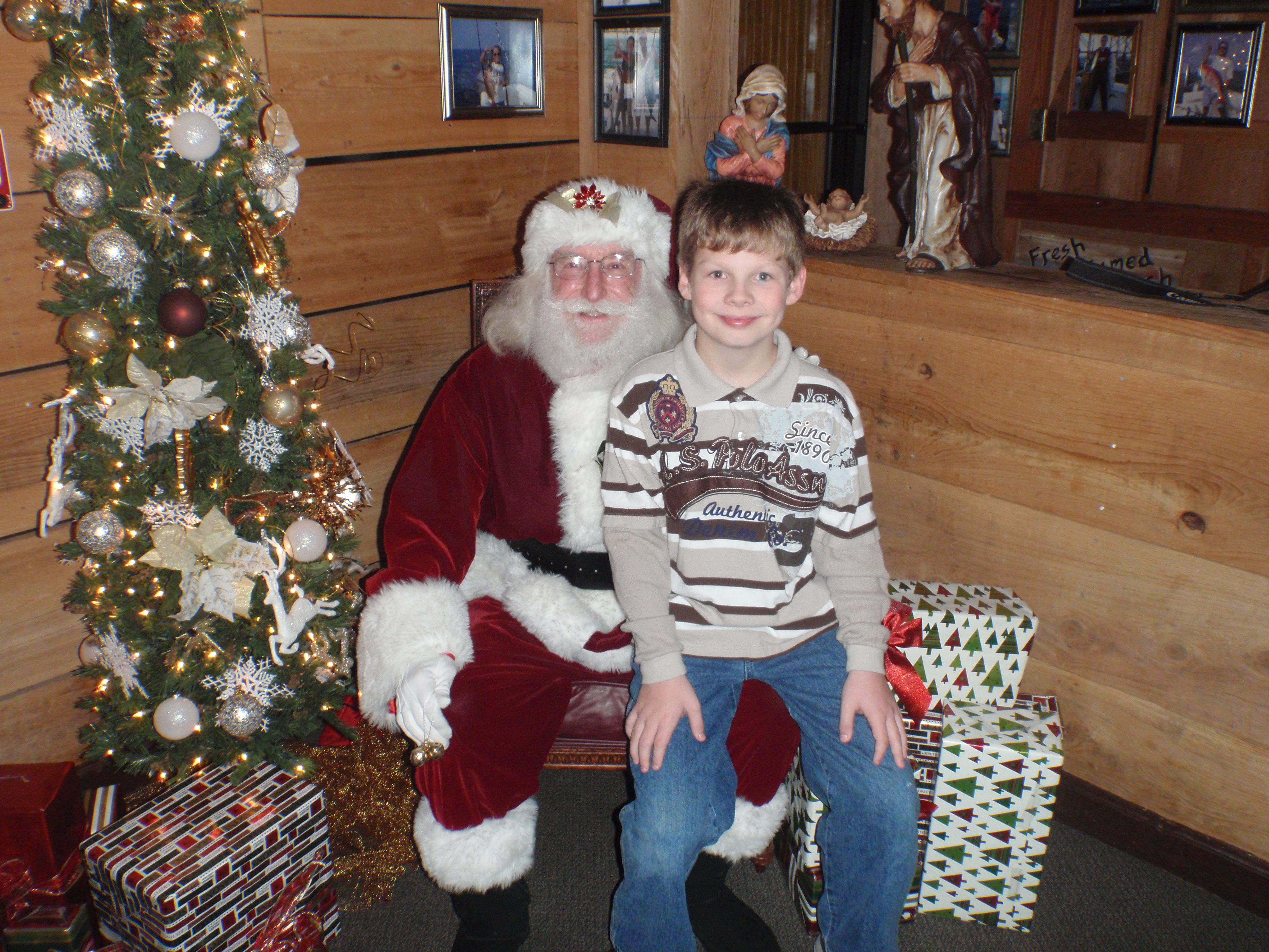 boy and santa 14