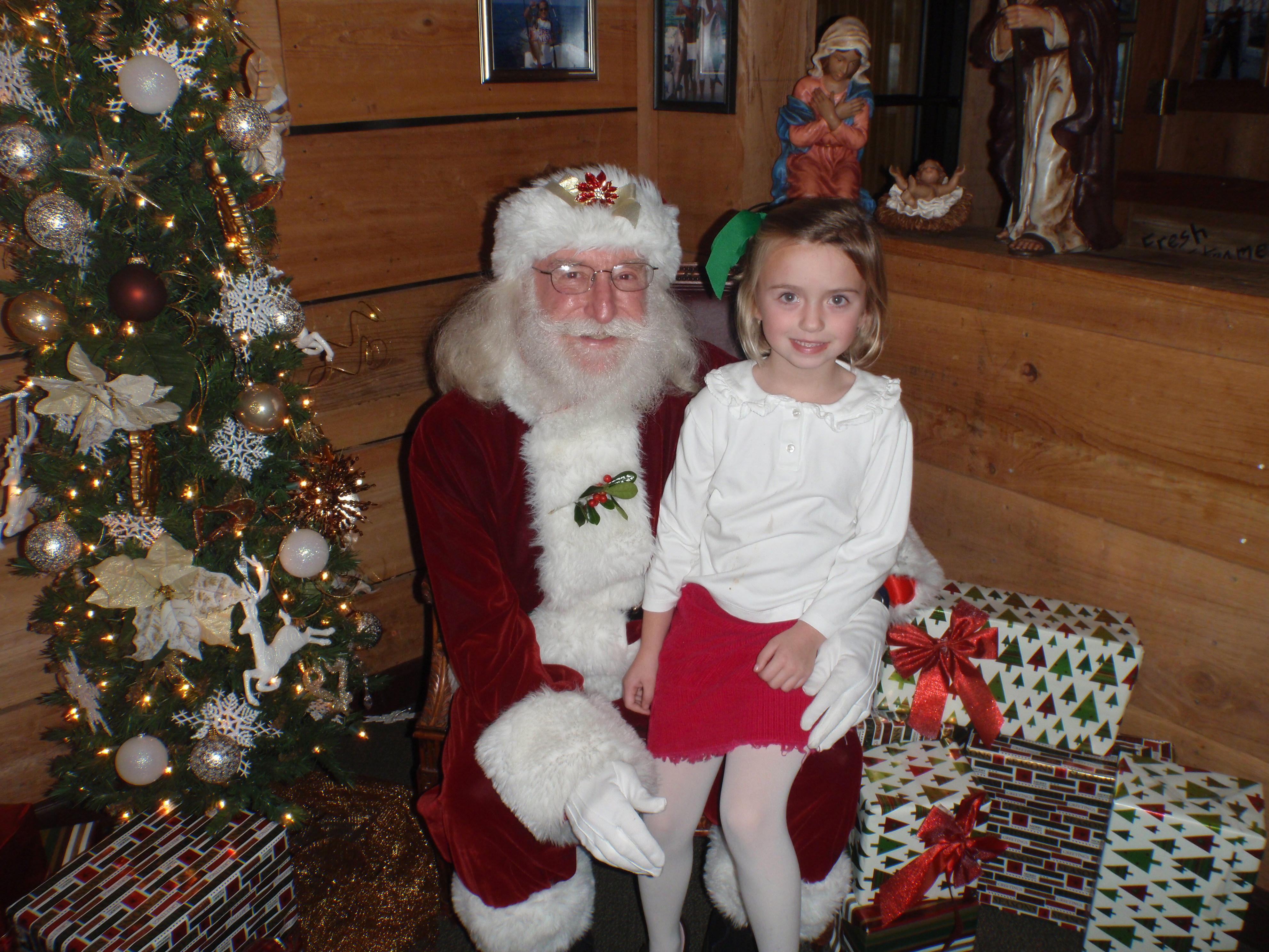 girl and santa 17