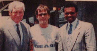 Lee Roy Jordan and Gale Sayers