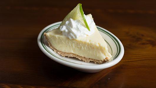 Homemade Keylime Pie Slice