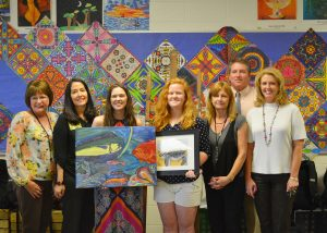 Winners of the Chelsea Garvin Spirit Scholarships