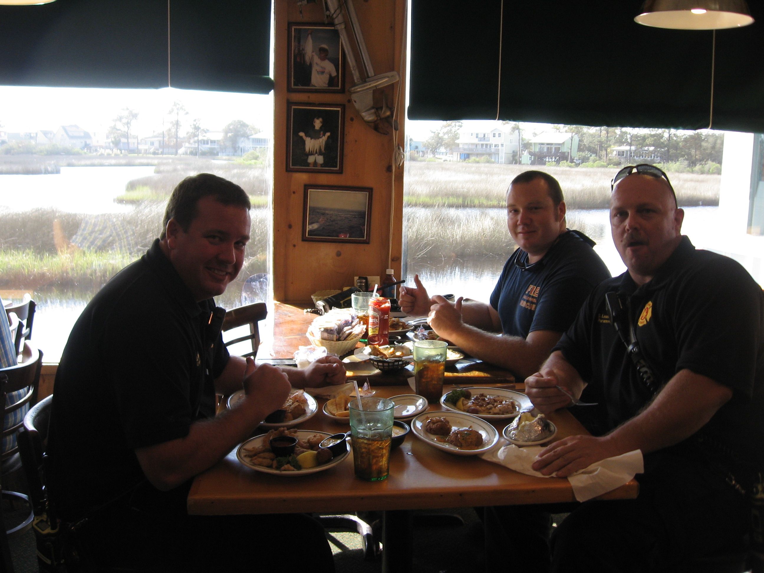 police officers at Never Forget Lunch