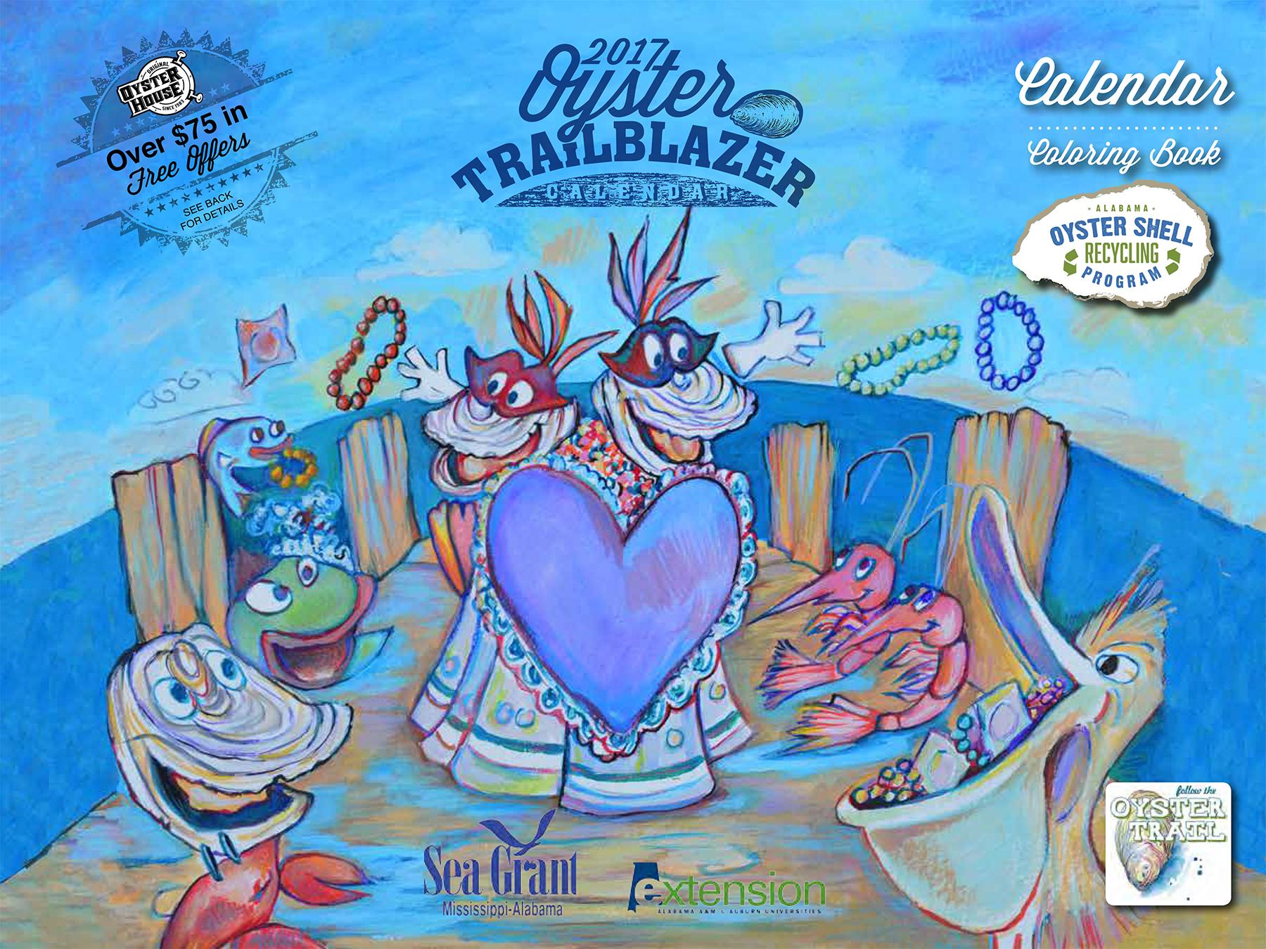 Oyster Trailblazer Calendar 2017