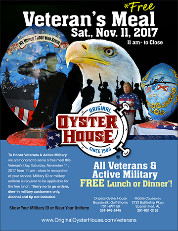 OOH Vets Lunch 2017 poster