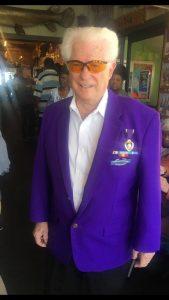 Paul Wingard, Purple Heart Recipient, at Veteran's Lunch