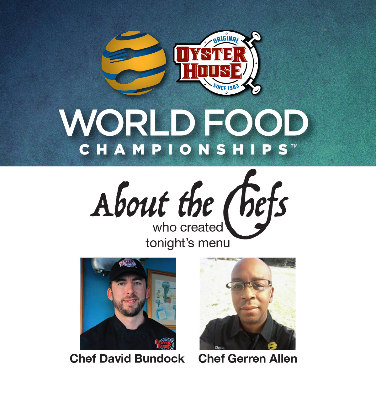 World Food Championships poster