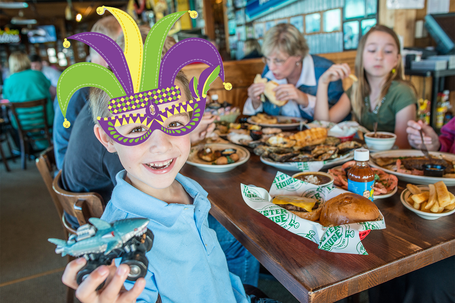 Celebrate Mardi Gras & Lent at the Original Oyster House