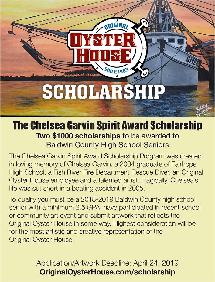Scholarship Poster