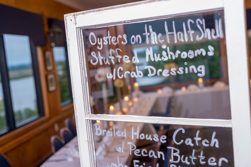 Oyster House Banquet Room shoot
