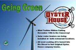 The Original Oyster House is Going Green
