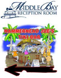 Middle Bay Reception Room and Hammerhead Joe's Tiki Bar
