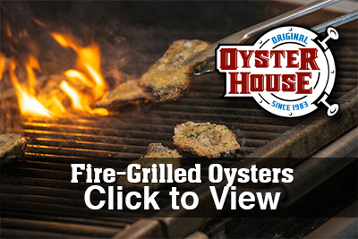 Fire Grilled Oysters