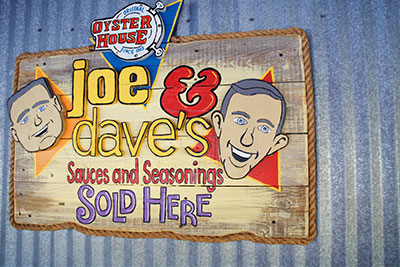 Joe and dave's souces and seasonings