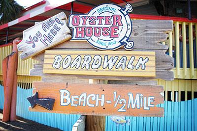 Broadwalk sign