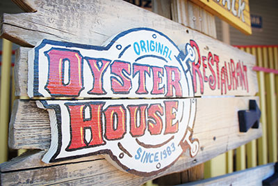 Original Oyster house signboard