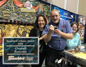 winning team of the Snowbird Choice Award