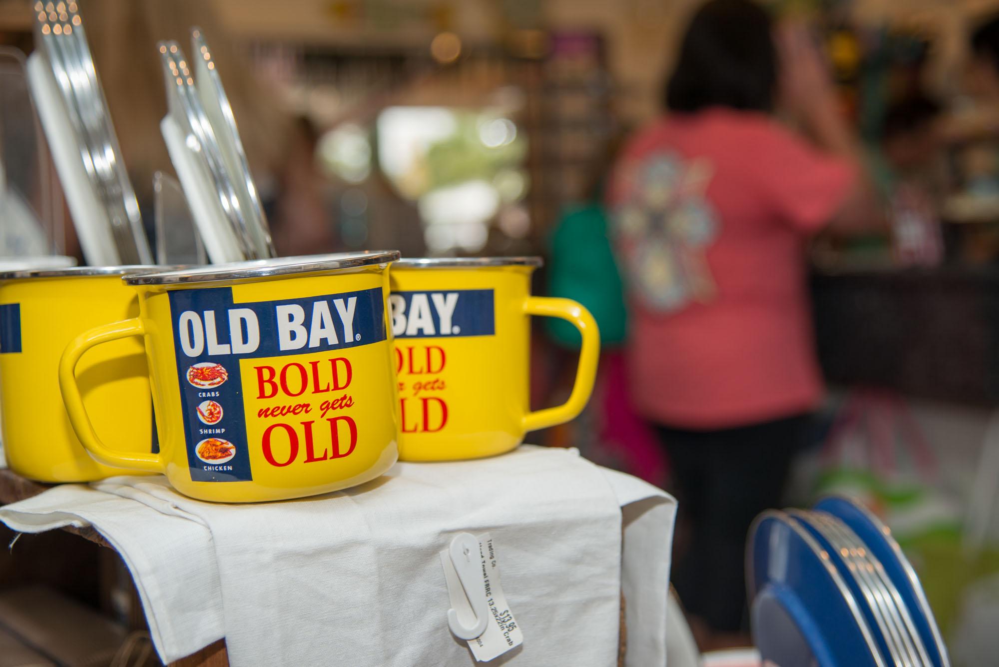 original oyster house yellow mugs