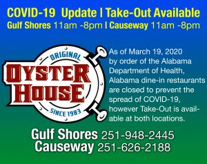 Take Available at Gulf Shores & Mobile Causeway Locations