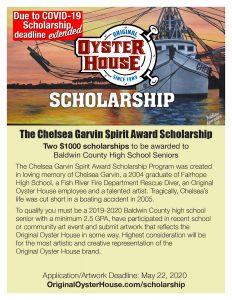 Deadline Extended Scholarship