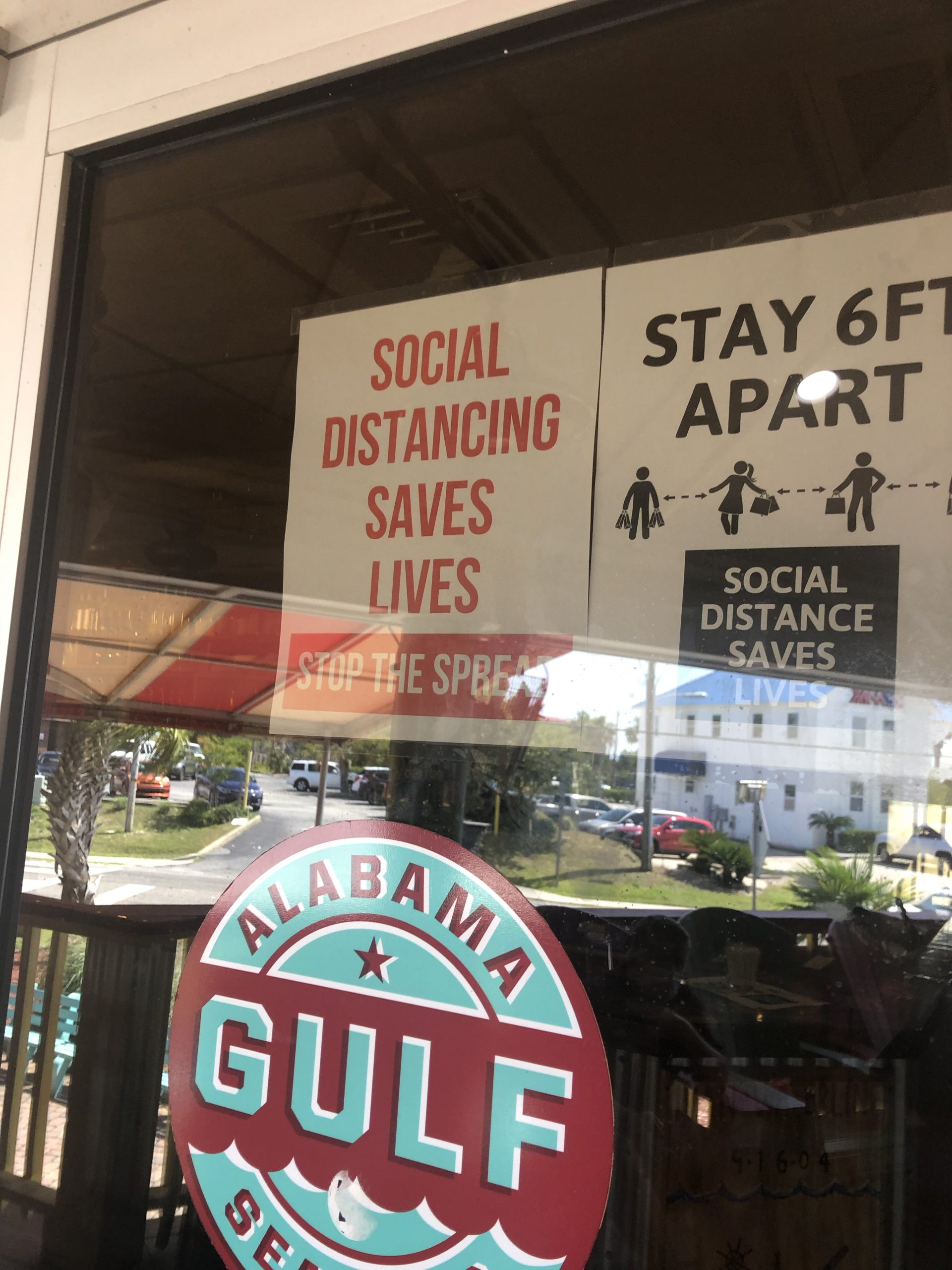 Sign Social Distance