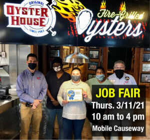 Mobile Causeway Job Fair Thurs. March 11, 2021