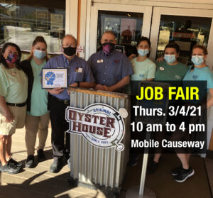 Gulf Shores Job Fair Thurs. March 4 from 10 to 4