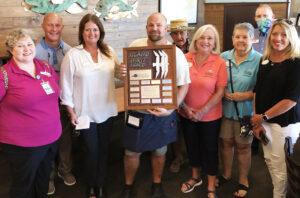 Coastal Alabama Presents Dean Smythia the Island Spirit Award